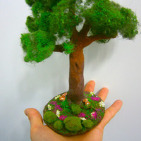 miniature tree, dollhouse tree, scale tree, dollhouse plant