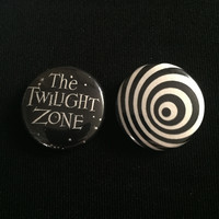"THE TWILIGHT ZONE 1"" buttons"