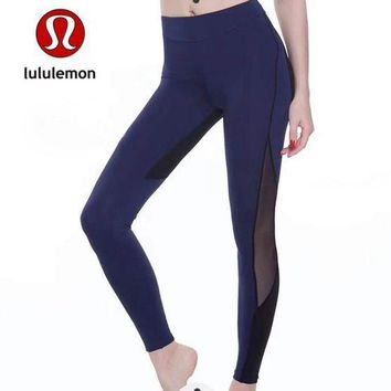 CREYUP0 Lululemon Women Fashion Gym Yoga Exercise Fitness Leggings Sweatpants