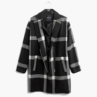 Checkmark Zip Coat