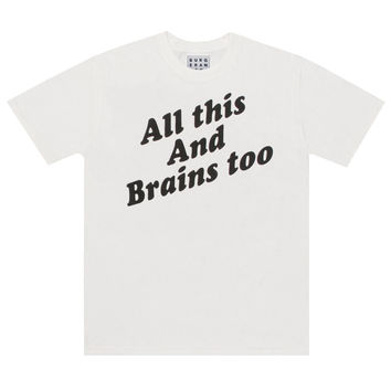 BRAINS TOO TEE