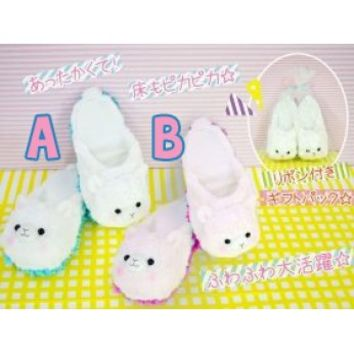 Alpacasso Alpaca Amuse Plush House Shoes!
