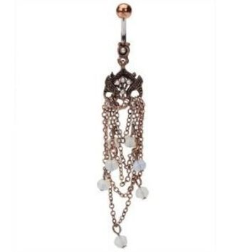 Amazon.com: Vintage Owl Belly Button Ring - Owl Belly Button Rings - 14 Gauge: Jewelry