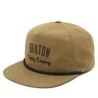 Brixton Carbon Snapback Hat - Mens Backpack - Yellow - One