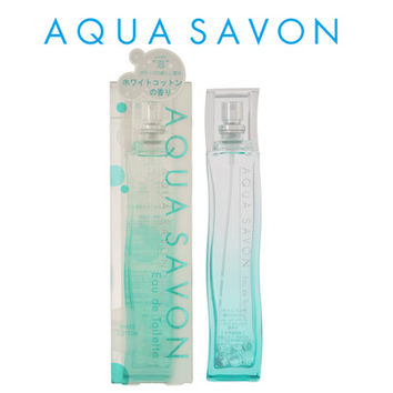 Fragrance EDT 80mL men's Lady's of the AQUA SAVON aqua soap white cotton