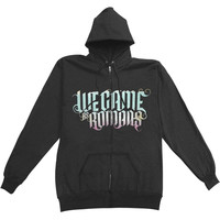 We Came As Romans Men's  Album Zippered Hooded Sweatshirt Black Rockabilia