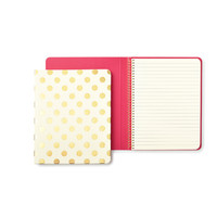Kate Spade New York-Gold Dots Notebook