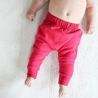 Bamboo Slim Harems in Pink