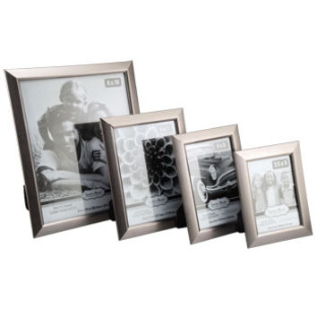 Bulk Assorted Contemporary Beveled-Edge Silver Plastic Photo Frames at DollarTree.com