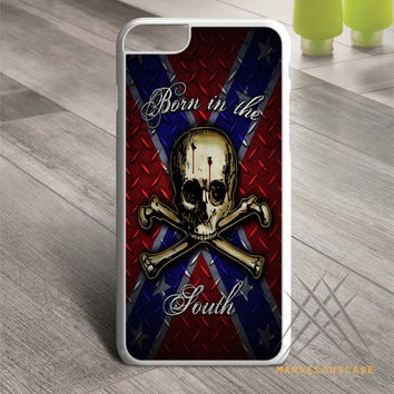 Confederate Rebel Flag South Skull case for iPhone, iPod and iPad