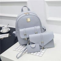 3Pcs/Set Small Women Backpacks. Girls Will Love This One.