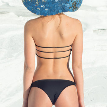 Farron Swim Myora Bottom in Black- Small
