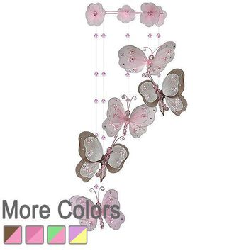 Chloe Butterfly Nursery Mobile