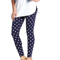Old Navy Womens Fashion Leggings Size XS - Polka dot