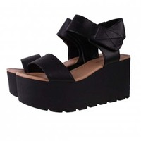 Cleated Sandals | Buckle Platform Sandals |Fishermans Platform Sandals