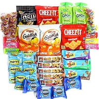 "Healthy and Delicious Snack Package ""Young at Heart"" Box of 50 Items Now includes exclusive Stay at Home Snacks branded Mints!"