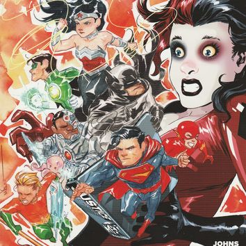 Justice League # 39 DC Comics The New 52! Vol 2 Harley Quinn Variant Cover