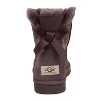 UGG Mini Bailey Bow Locomotive Grey - Zappos.com Free Shipping BOTH Ways