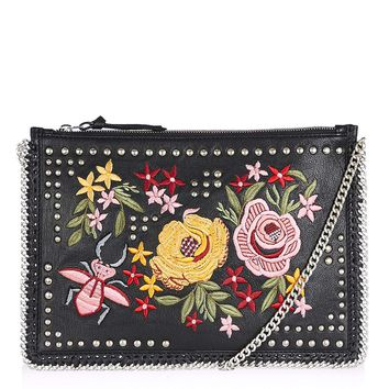 Floral Embroidered Cross Body Bag | Topshop