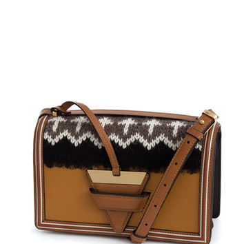 Loewe Barcelona Knit Shoulder Bag