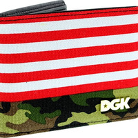Dgk Americana Wallet Camo/Red/White