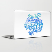 Fierce Tiger v.2 Laptop & iPad Skin by MaNia Creations
