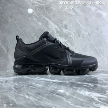 DCCK2 N892 Nike Air Vapormax 2019 mesh breathable Drop molding Running Shoes black