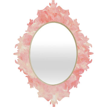 Rosie Brown Art Deco Pink Baroque Mirror
