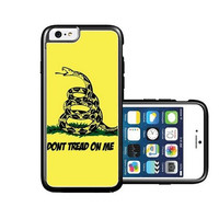 RCGrafix Brand Gadsden Dont Tread On Me Flag iPhone 6 Case - Fits NEW Apple iPhone 6