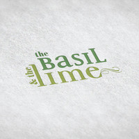 Basil & Lime // Pre-made Logo Design / Etsy Set, Social Media Profile Set / One Of A Kind Logo Design / Unique Full Brand Set... and More
