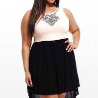 Plus Size Ciara High-Low Dress | Fashion To Figure