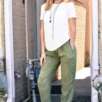 Relaxed Beach Play Pant
