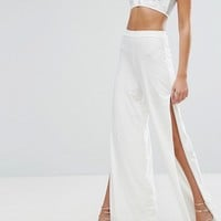 PrettyLittleThing Split Side Pant at asos.com