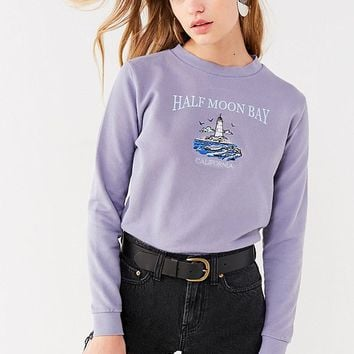 Future State Lighthouse Crew-Neck Sweatshirt   Urban Outfitters