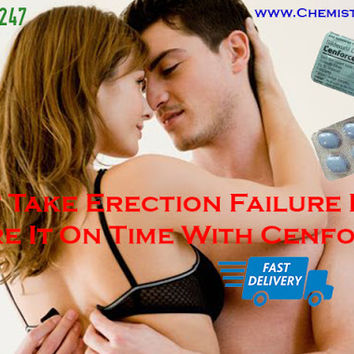 Do Not Take Erection Failure Lightly Cure It On Time With Cenforce