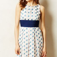 Waltham Embroidered Dress by Plenty by Tracy Reese Neutral Motif