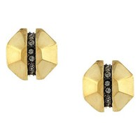Louise et Cie Split Octagon Stud Earrings | Nordstrom