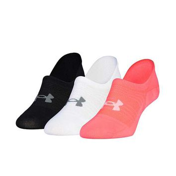 UNDER ARMOUR® ESSENTIAL ULTRA 3 PACK SOCKS