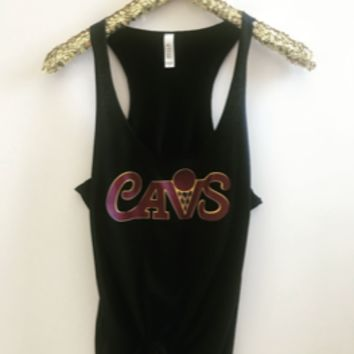 Cavs Tank - Cleveland Cavaliers - NBA Tank - Ruffles with Love