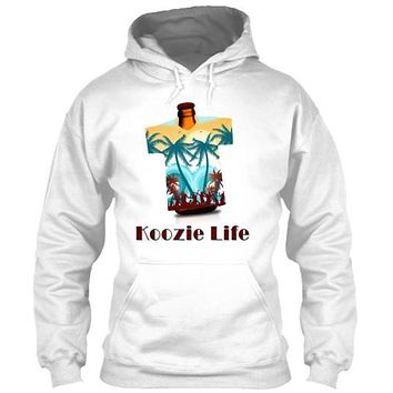 Koozie Life Beer Drinking Holder T-Shirt