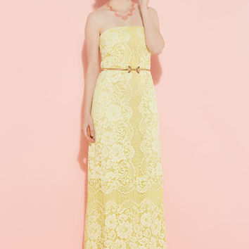 Enchanting Commencement Maxi Dress in Daffodil | Mod Retro Vintage Dresses | ModCloth.com