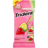 Walmart: Trident Island Berry Lime Sugar Free Gum, 18 pieces, 3 count