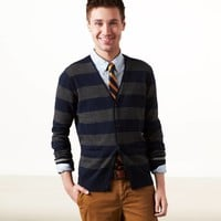 AE Striped Cardigan | American Eagle Outfitters