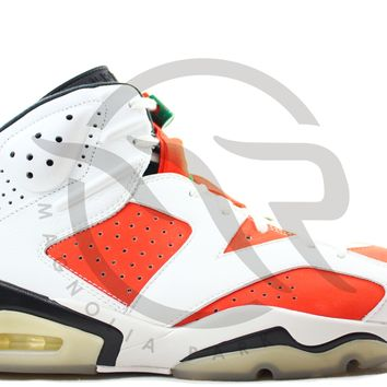 QIYIF AIR JORDAN RETRO 6 - GATORADE (WHITE)
