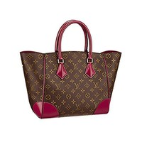 Authentic Louis Vuitton Monogram Canvas Phenix MM Bag Handbag Article: M41541 Made in Italy