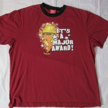 13-1205 A Christmas Story T Shirt / Its A Major Award T Shirt / A Christmas Story Movie T Shirt / Movie T Shirt / T Shirt / Leg Lamp T Shirt