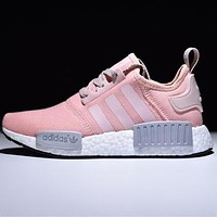 ADIDAS NMD Women's Fashion Casual Casual Shoes F pink/grey