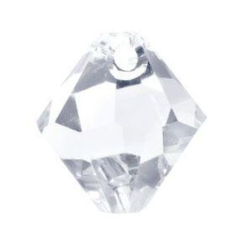 Swarovski 6mm Top Drill Bicone - Crystal (10 Pack)