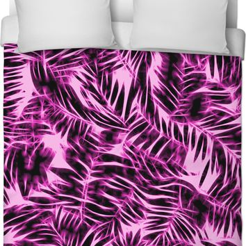 Welcome to the jungle, hawaiian style duvet cover, all-over-print bedroom decor design