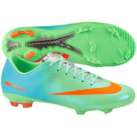NIKE Youth Mercurial Vapor IX FG Soccer Cleats